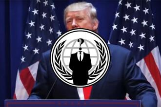 Reactia hackerilor Anonymous dupa deciziile anti-imigranti luate de Trump.