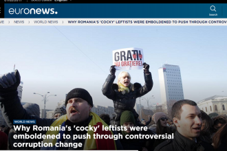 Euronews: Guvernul PSD,