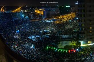 Filmul protestelor din Capitala, la care au participat 120.000 de oameni. Ciocniri intre jandarmi si cativa indivizi violenti