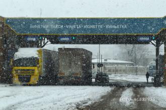 Taxa de drum in Bulgaria se va plati doar in vama. Soferii de camioane, obligati sa achite cu cardul