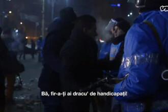 Explicatiile oficiale privind incidentul in care un jandarm ar fi fost batut de colegii sai, in Piata Victoriei