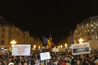 Peste 250.000 de romani au protestat in tara. Zeci de mii de oameni in strada la Cluj, Timisoara, Iasi, Sibiu, Constanta
