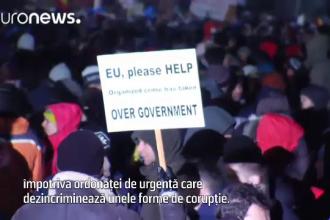 Euronews, BBC si Al Jazeera, transmisii in direct de la Protestele din Piata Victoriei. Avertismentul venit din Bundestag