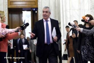 Tariceanu, enervat de intrebarile jurnalistilor despre protestatari: