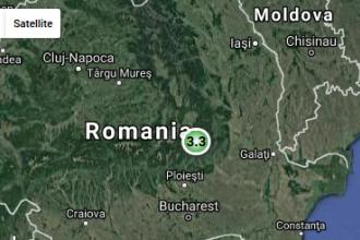 Cutremur cu magnitudinea 3,3, in judetul Buzau, marti dimineata. Sase seisme inregistrate in februarie, in Romania
