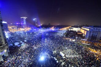 Publicatia americana Washington Post, elogiu dedicat protestelor din Romania:
