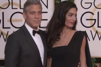 George si Amal Clooney au devenit parintii unor gemeni: un baiat si o fetita. Ce nume vor purta copiii