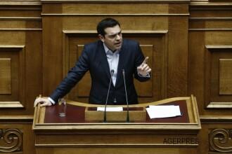 Premierul Alexis Tsipras, mesaj puternic catre FMI si Angela Merkel: