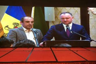 Crucea, scoasa de pe steagul Moldovei chiar sub ochii presedintelui tarii. Totul s-a petrecut la o competitie internationala
