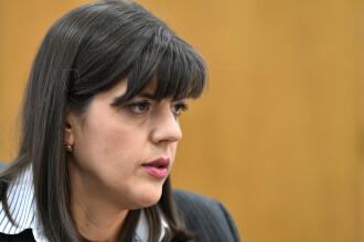 Laura Kovesi, chemată vineri în Secţia pentru procurori a CSM
