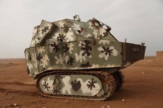 "Rebelii kurzi au inventat ""tancul-pitic"". Vehiculul blindat e folosit in luptele pentru cucerirea capitalei Statului Islamic"