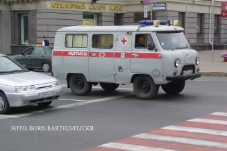 Un rus a chemat ambulanta pentru bunica sa bolnava, dar s-a trezit cu dricul la poarta. Autoritatile ancheteaza