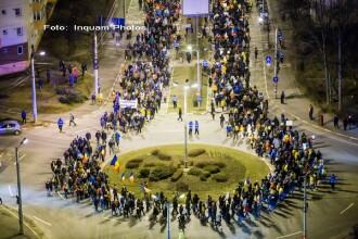 Protestatarii de la Sibiu anunta o noua strategie pe termen lung. Ce tactica vor adopta privind manifestatiile