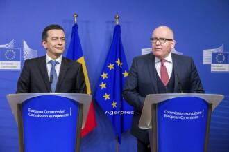 Premierul Sorin Grindeanu, la Bruxelles: Voi propune ca ministru al Justitiei o persoana apolitica, din afara coalitiei