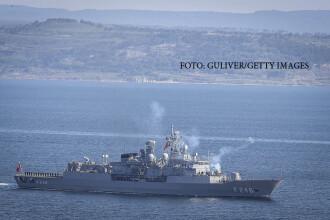 Incident grav in Marea Egee. O nava militara a Turciei a deschis focul in apele teritoriale ale Greciei