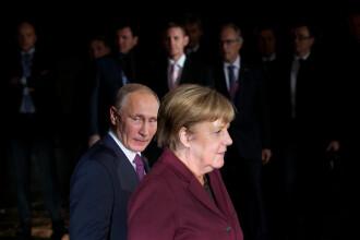 Cancelarul german Angela Merkel sustine cooperarea cu Moscova in lupta impotriva terorismului