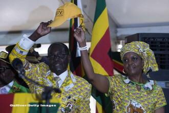 Sotia presedintelui Robert Mugabe spune ca acesta ar trebui sa candideze ca si