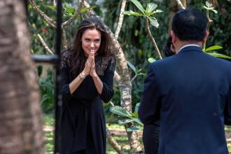 Angelina Jolie, prima declaratie despre despartirea de Brad Pitt. Actrita a inceput sa planga in timpul interviului. VIDEO