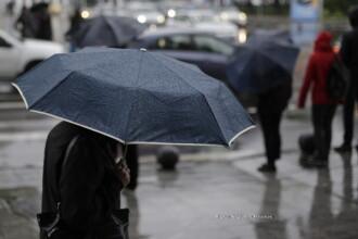 Precipitatiile se extind in vestul, centrul si nordul tarii. De miercuri vremea se incalzeste in sudul tarii