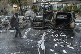 Revolta in capitala Suediei la cateva zile dupa gafa comisa de Donald Trump. De la ce au pornit confruntarile cu politia