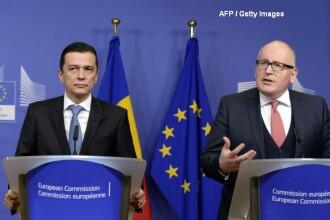Comisia Europeana anticipeaza ca Romania va inregistra in 2017 un deficit bugetar peste limita de 3% admisa de UE