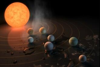 NASA a descoperit sapte exoplanete de marimea Terrei, iar pe trei dintre ele viata este posibila. La ce distanta se afla