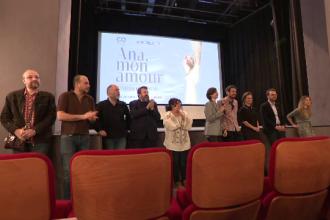 Prima proiectie in Romania a filmului