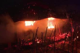 O batrana de 80 de ani a murit in urma unui incendiu provocat de o soba.