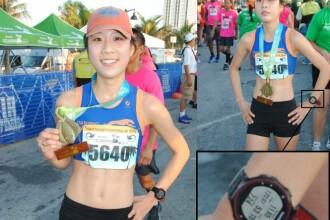 A ocupat locul 2 la semimaratonul de la Fort Lauderdale, dar ceasul a dat-o de gol ca a trisat. Cum a reusit sa castige