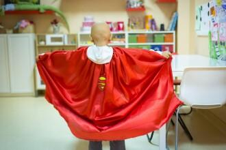 Voluntari in sprijinul copiilor bolnavi de cancer din Romania