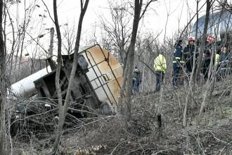 Traficul feroviar oprit după deraiarea unui tren în Mehedinți, reluat după 17 ore