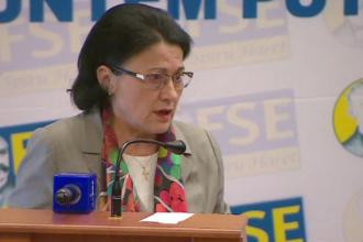 Ecaterina Andronescu susține că se așteaptă să fie exclusă din PSD, după ce i-a cerut lui Dragnea demisia
