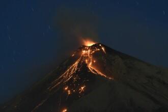 Vulcanul Fuego a început să erupă, în apropierea capitalei Guatemalei