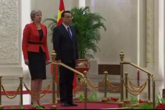 Acorduri în valoare de 9 miliarde de lire, între Marea Britanie şi China