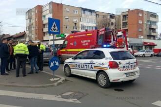 Polițist local din Arad, lovit cu mașina de un șofer nemulțumit că urma să fie amendat