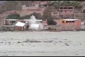 Viituri violente în Bolivia. Cel puţin 20 de case s-au prăbuşit