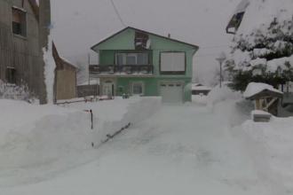O parte din Europa, lovită de ninsori abundente. Strat de zăpadă de un metru în Croația