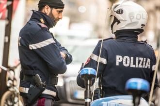 Româncă găsită de poliţia italiană pe un balcon, după o plantă de plastic. Ce voia să facă