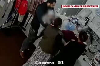 Magazin din Arad, jefuit cu ajutorul unui bebeluş.