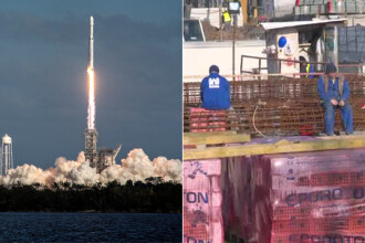 Cea mai puternică rachetă din lume, Falcon Heavy, mai ieftină decât metroul din Drumul Taberei