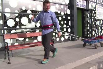 După Tibi Uşeriu, Avram Iancu vrea să fie al doilea român care câştigă Ultra-maratonul Arctic