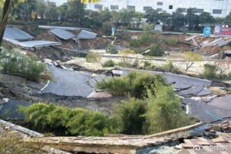 Opt morţi şi trei dispăruţi, după prăbuşirea unei porţiuni dintr-o magistrală rutieră din China