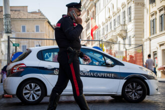 Bărbat suspectat de terorism, arestat la Roma, după o informare a FBI