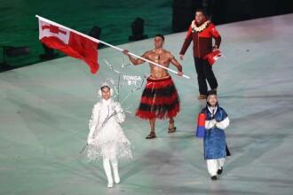 Luptătorul de taekwondo de la Rio a ajuns schior la PyeongChang. A defilat iar la bustul gol