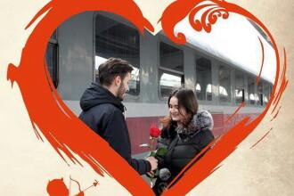 CFR pune în vânzare bilete la jumătate de preţ, de Valentine's Day şi de Dragobete