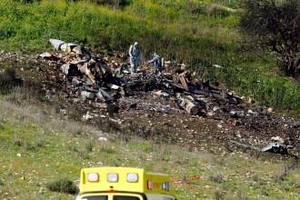 """Atac """"de anvergură"""" în Siria. Un avion de luptă israelian a fost doborât"""