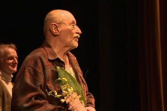 Actorul Victor Rebengiuc și-a petrecut a 85-a aniversare pe scena TNB