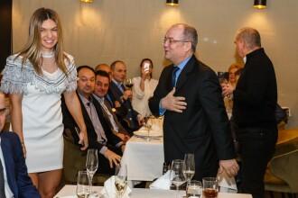 Simona Halep, elegantă la dineul oficial Fed Cup. Emil Boc a participat la eveniment