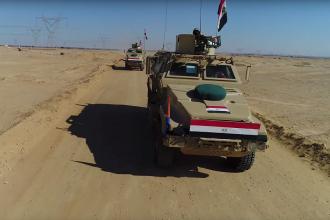 Ciocniri între armata egipteană şi ISIS, în peninsula Sinai. 13 jihadişti, ucişi