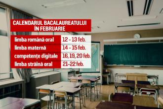 BACALAUREAT 2018: Pentru prima dată în istorie, Bacul a început în luna februarie